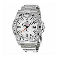 Rolex Explorer II White Dial Stainless Steel Rolex Oyster Automatic Mens Watch...