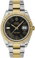 Rolex Oyster Perpetual Datejust Ii Mens Watch 116333