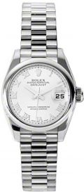 Rolex Oyster Perpetual Datejust Lady Platinum 179166