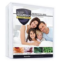 Sleep Guardian Mattress Protector - Lab Tested Premium Waterproof, Hypoallergenic Mattress Protector...