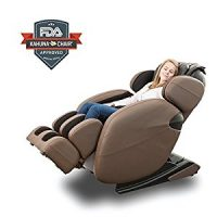 Space-Saving Zero-Gravity Full-Body Kahuna Massage Chair Recliner LM6800 with yoga & heating...