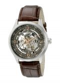 Stuhrling Original Delphi Automatic Watch - Grey Skeleton Dial Wrist Watch for...
