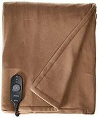 Sunbeam Fleece Heated Throw with PrimeStyle Lighted Controller, Extra Soft Super Warm...