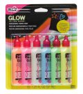 Tulip 6-Pack 3D Fashion Paint, Glow