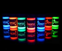 UV Neon Face & Body Paint Glow Kit (7 Bottles .75 oz....