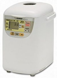 Zojirushi BB-HAC10 Home Bakery 1-Pound-Loaf Programmable Mini Breadmaker